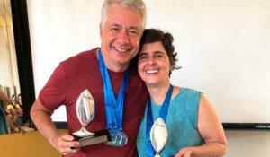 Campeonato Nacional de Foto Sub - vencedores Fabio Freitas e Flavia Mergulhão