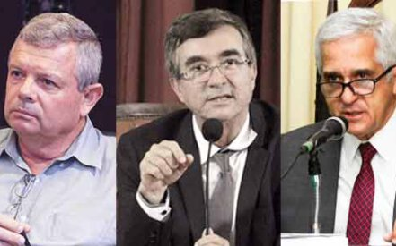 Axel Grael, Paulo Bagueira e Comte Bittencourt
