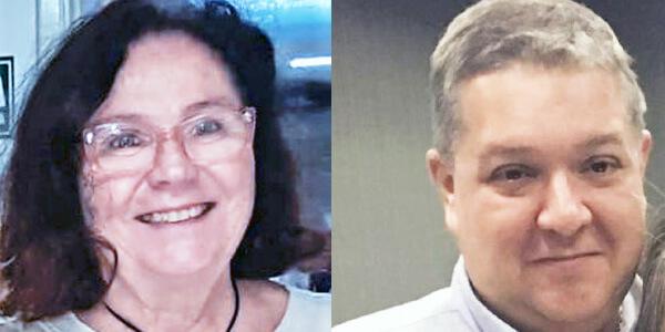 Celia Bastos e Vitor Bon