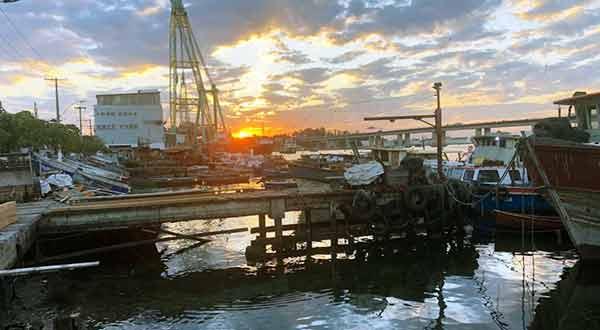 Indústria naval Ponta d'Areia