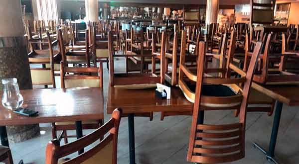 restaurantes fechados
