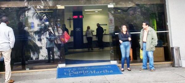 Hospital Santa Martha desmarcou hoje todas as cirurgias eletivas de beneficiários da Unimed Rio