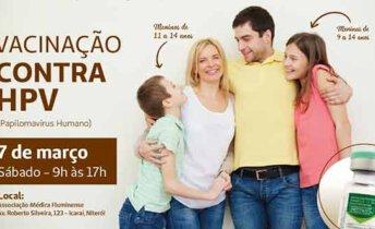 vacinação contra o hpv em Niterói