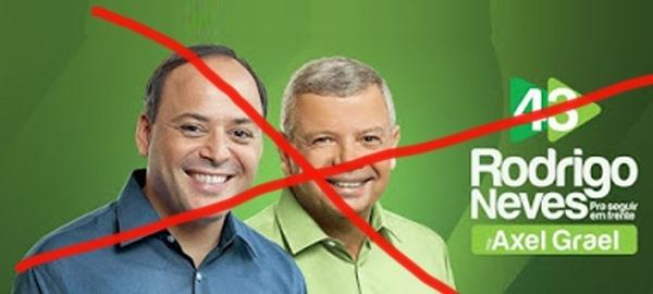 A chapa do Partido Verde impugnada pela Justiça Eleitoral
