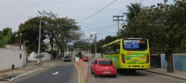 A Avenida Sete é o único acesso a Piratininga e Itaipu pelos  próximos mese