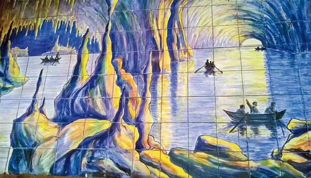 Painel da Gruta di Capri - Reprodução internet