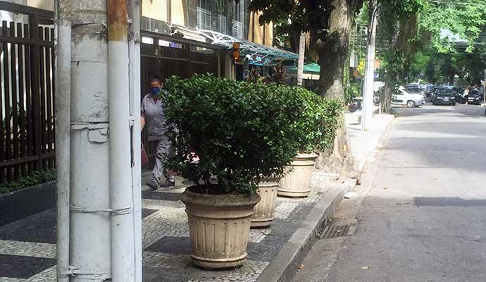 calçadas de Niterói