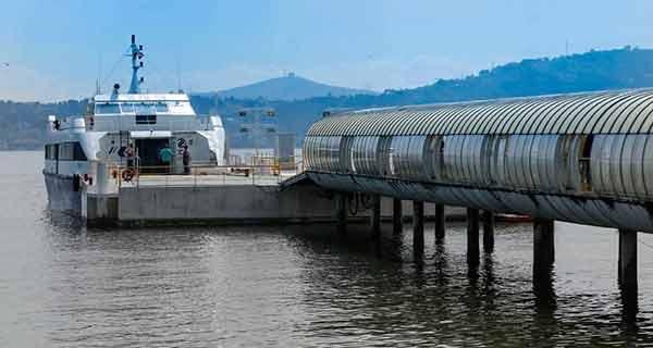 estação catamarã em Charitas