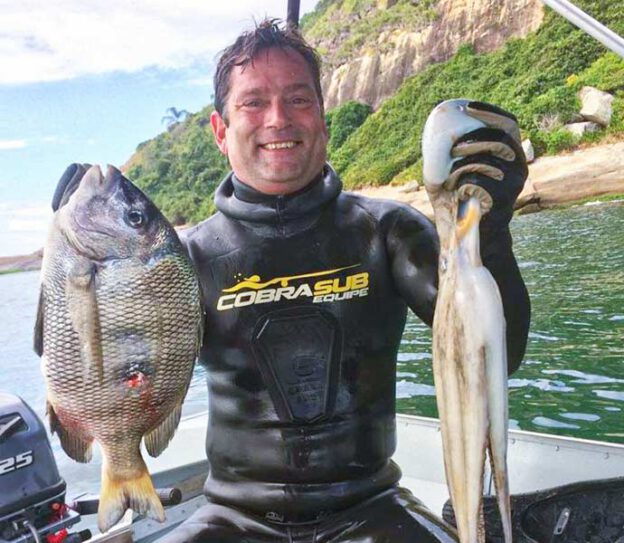 chef e pescador