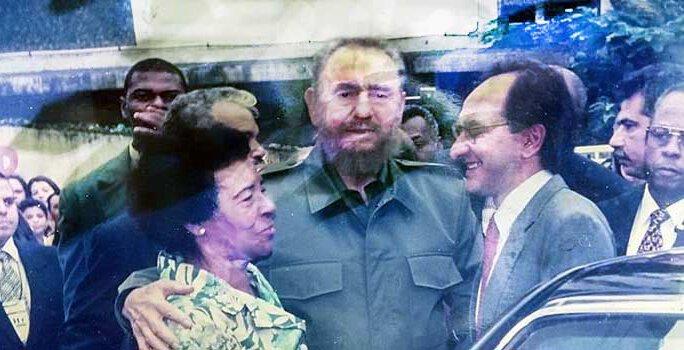 Luiza Mendonça, Fidel e Jorge Roberto