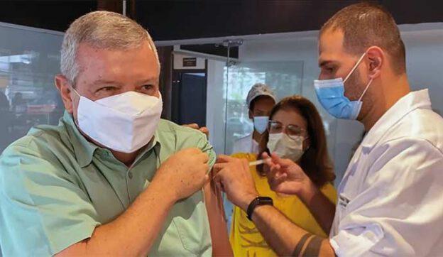 Grael vacinado