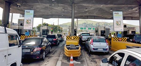 pedágio da ponte Rio-Niterói