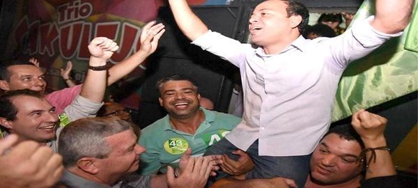 Rodrigo festeja o que não esperava: vai ter segundo turno