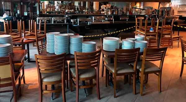 restaurantes de pratos vazios
