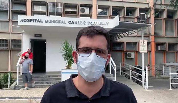 Secretário de Saúde Rodrigo de Oliveira